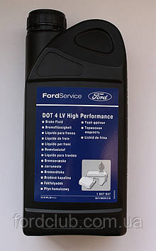 Тормозная жидкость Ford Dot 4 LV High Performance