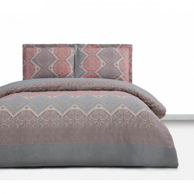 Евро комплект постельное белья Tia Simple Living Arya 200X220 см. (TR1005643)