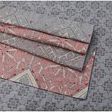 Евро комплект постельное белья Tia Simple Living Arya 200X220 см. (TR1005643), фото 2