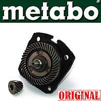 Блок-редуктор болгарки Metabo WE 12-125 Quick, запчасти на болгарку