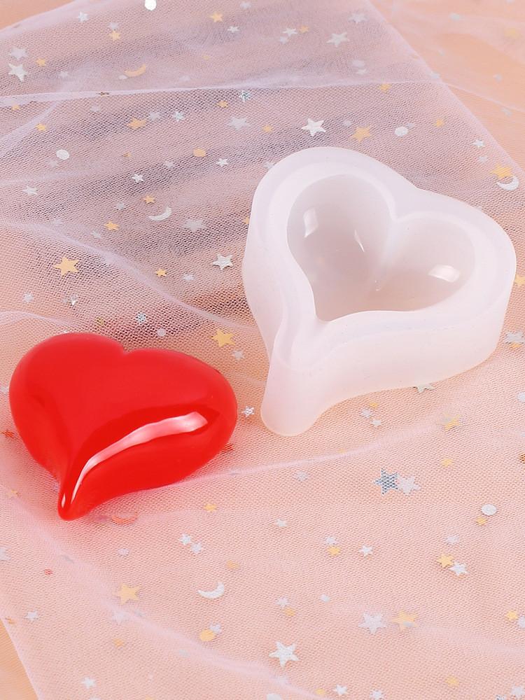 Молд силиконовый, сердце S
