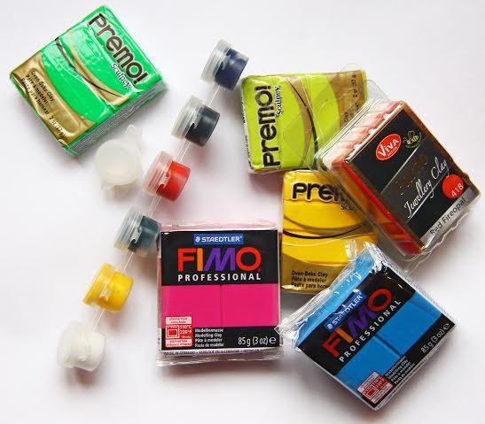 Запекаемые прочные краски для полимерной глины Имеджик iMagic набор 6 шт