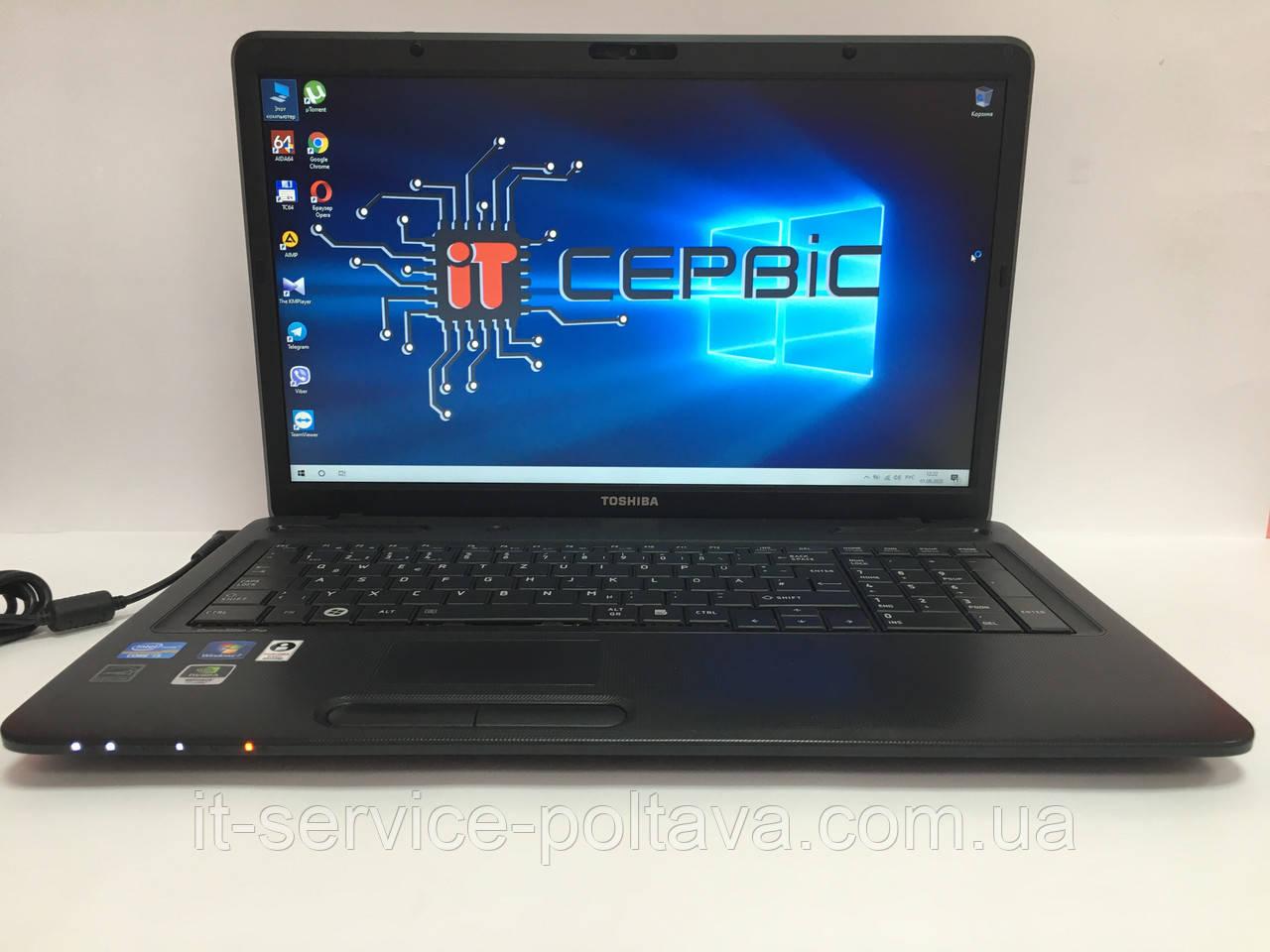 Ноутбук Toshiba Satellite PRO L770-116 17'' з Німеччини. ГАРАНТІЯ 6 міс.