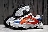 Кроссовки мужские 20042 ► Nike Air Force 1, белые . [Размеры в наличии: 40,41,42], фото 1
