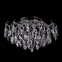 Хрустальная потолочная люстра(9 лампочек, 7 светодиодных модулей) P5-E1567/9+7/CH