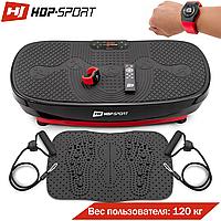 Віброплатформа Hop-Sport 3D HS-080VS Nexus Pro + масажний килимок + пульт управління + годинник