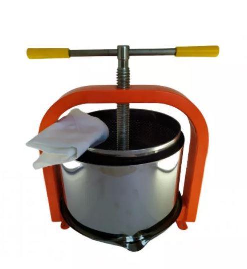 Пресс для винограда и фруктов 25 л нержавеющая сталь + фильтр (Украина)
