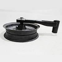 Шків натяжний ременя варіатора ходової частини в зборі з важелем Нива СК-5 54-0-124-1Б
