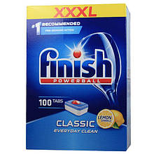Finish Таблетки для посудомоечных машин Classic Basis-Reinigung 100шт