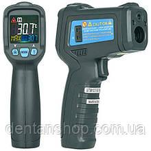 Пирометр Bside BTM21C (IR: -50 ... +550 °C) D:S: 12:1; EMS: 0.10-1.00. С Термопарой К-типа