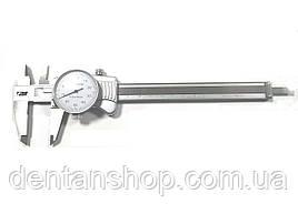 Штангенциркуль I.D.F. ШЦ-200-0,01 (0-200 мм; ±0.02) стрелочный. Италия