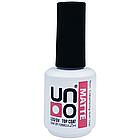 Матовый Топ для ногтей UNO 15 мл Matte Top Coat**