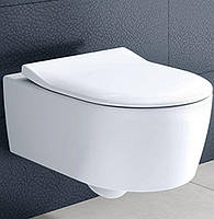 Унитаз подвесной Villeroy & Boch Avento 5656RS01 SlimSeat Soft-closing