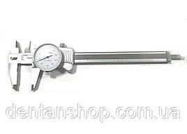 Штангенциркуль I.D.F. ШЦ-150-0,01 (0-150 мм; ±0.02) стрелочный. Италия