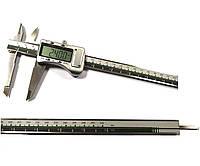 Штангенциркуль электронный I.D.F. 200M (0-200 мм; ±0.03) в металлическом корпусе IP67 Италия