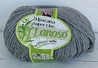 Lanoso Alpacana Super Fine серый  № 952
