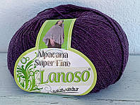Lanoso Alpacana Super Fine фиолетовый № 959