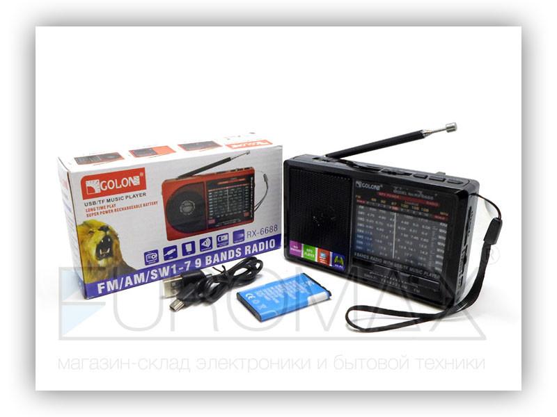Радиоприемник Golon 80шт RX-6666