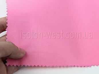 Кожвинил мебельный гладкий (розовый Н-15) для перетяжки мягкого уголка, дивана, стульев, ширина 1.40м