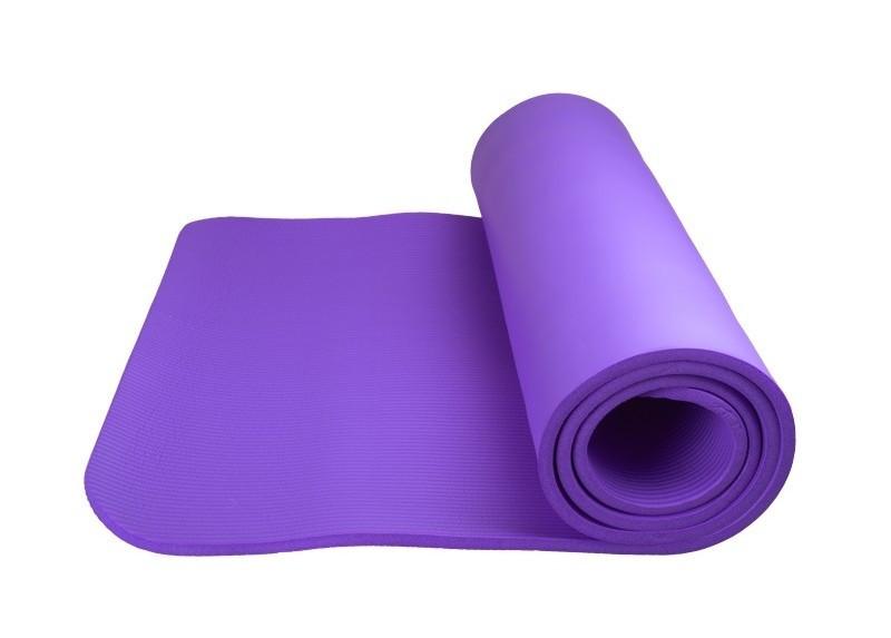 Коврик для йоги и фитнеса Power System PS-4017 FITNESS-YOGA Mat Purple SKL24-145267