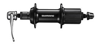 Втулка задня Shimano FH-TX800 QR/NT 36H V-Brake чорна, ексцентрик