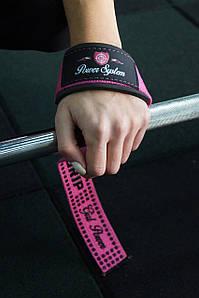 Кистьові ремені Power System G-Power Straps PS-3420 Pink