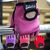 Перчатки для фитнеса и тяжелой атлетики Power System Pro Grip PS-2250 S Purple, фото 2