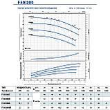 """Центробежный насос промышленный Pedrollo F 50/200B стандарта """"EN 733"""", фото 9"""