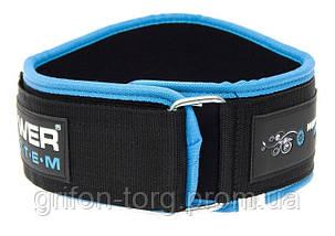 Пояс для тяжелой атлетики Power System Woman's Power PS-3210 XS Blue, фото 2