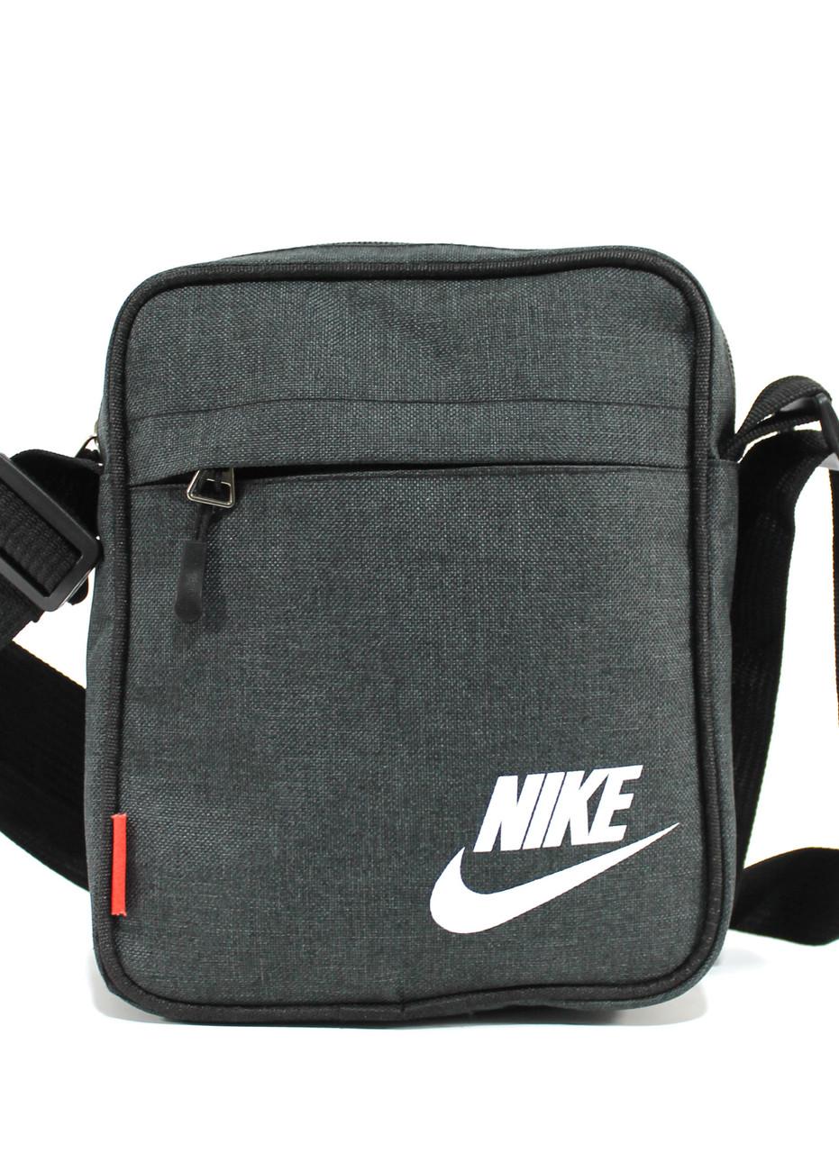 Мужская сумка через плечо, барсетка N108 (22см)