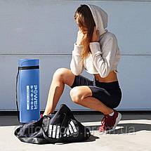Коврик для йоги и фитнеса Power System  PS-4017 FITNESS-YOGA MAT Blue, фото 3