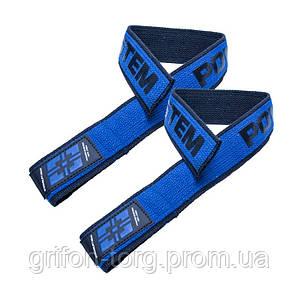 Кистьові ремені Power System PS-3401 Lifting Straps Duplex Black/Blue