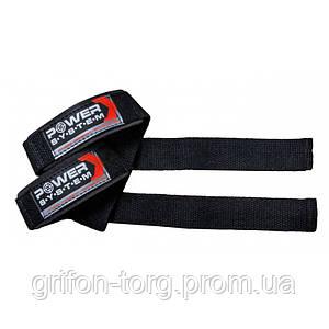 Кистьові ремені Power System Power Straps PS-3400 Black/Red