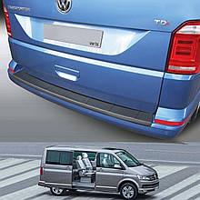 Пластиковая накладка заднего бампера для Volkswagen T6 2015+ (с 1 задней дверью)