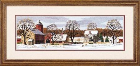 """Набор для вишивання """"Живописная ферма//Scenic Farm"""" DIMENSIONS 03841"""