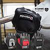 Перчатки для фитнеса и тяжелой атлетики Power System Power Plus PS-2500 XXL Black/Grey, фото 4