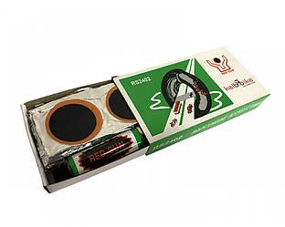 Аптечка Red Sun RS2402 для ремонту вело камер і шин, клей , латки, ремкомплект