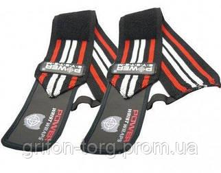 Кистьові бинти Power System Wrist Wraps PS-3500 Red/Black