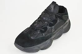 Кросівки BaaS 8031 чорні чоловічі замша/текстиль р. 41-45