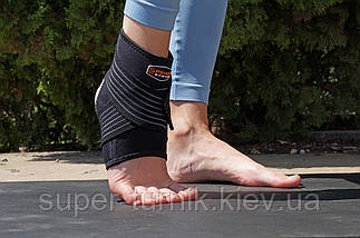 Голеностоп Power System Neo Knee Support PS-6013 XL Black/Red, фото 3