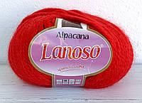 Lanoso Alpacana ярко-красный № 3030