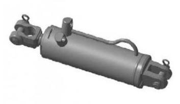 """Гидроцилиндр МЦ 125/50х200-3.44.1 """"Гидросила"""""""