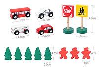 """Іграшка деревяна """"Автодорога"""", Развивающая игрушка """"Автодорога"""", фото 2"""