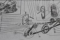Кронштейн обводного ролика МКШ ДОН 3518050-121170