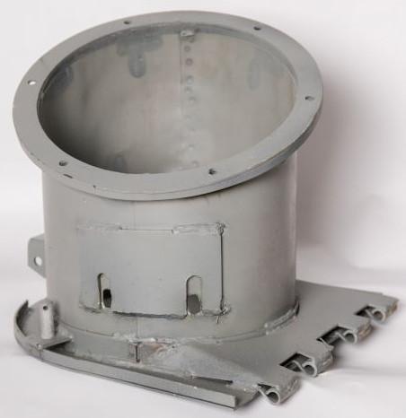 Патрубок вивантажувального шнека НИВА 54-6-3-2-1Б