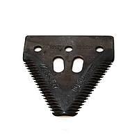 Сегмент жатки Шумахер John Deere, Laverda Pro Cut нож Джон Дир 10961, 10961621, Z52672, Z93077