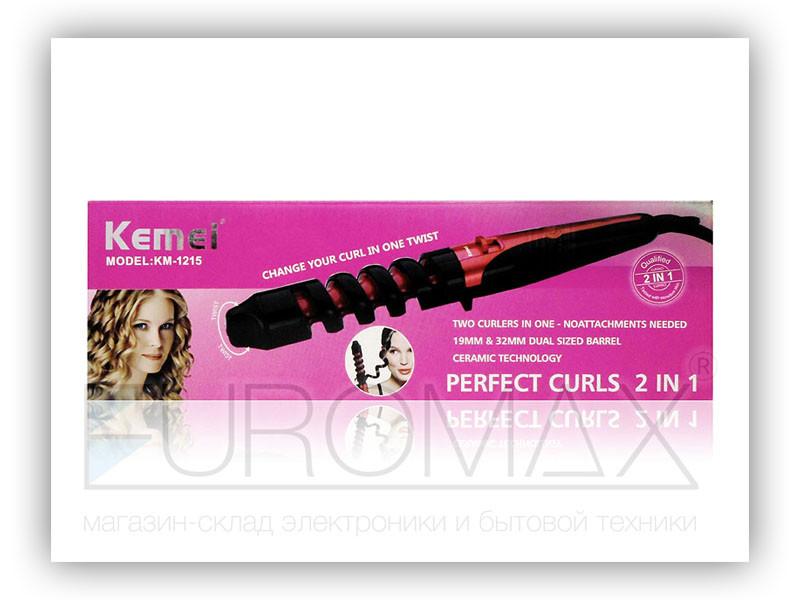 Плойка для волос спиральная Kemei 40шт ZFQ-KM-1215