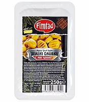 Оливки зеленые на гриле без косточек Fimtad 250 г (Турция)