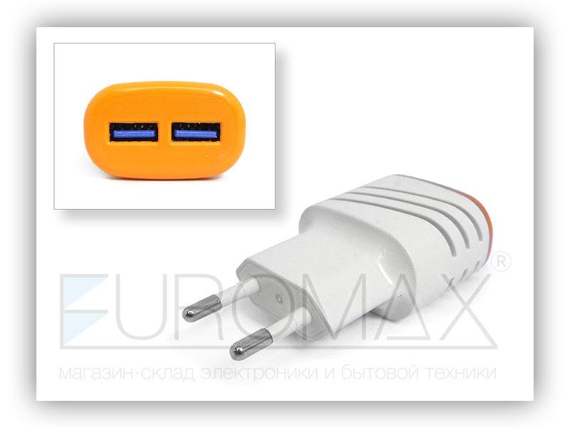 Зарядное устройство 220В USB ART-004