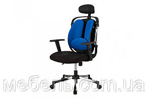 Мягкое кресло Barsky Ergonomic black ER-04, фото 3